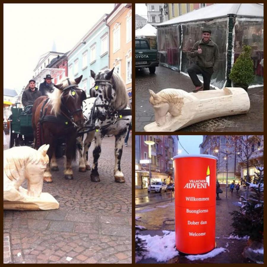 Adventmarkt 2014 - Futterkrippe